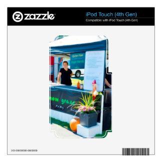 Lemon Grass Grill Bahn Mi Chicken iPod Touch 4G Decal