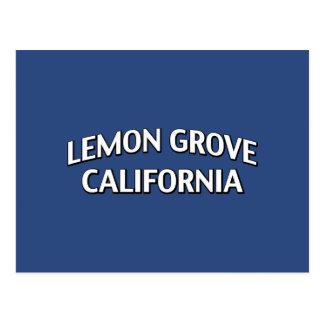 Lemon Grove California Postcard