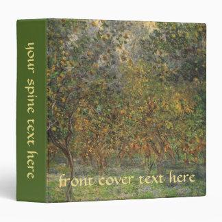 "Lemon Grove en Bordighera de Claude Monet Carpeta 1 1/2"""
