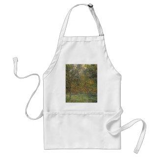 Lemon Grove en Bordighera de Claude Monet Delantal
