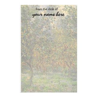 Lemon Grove en Bordighera de Claude Monet Papelería Personalizada