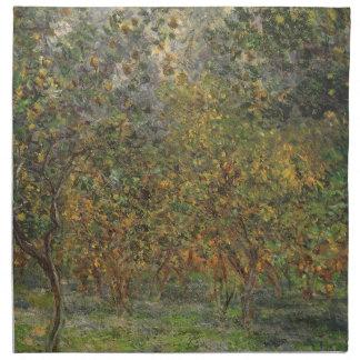 Lemon Grove en Bordighera de Claude Monet Servilleta De Papel