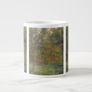 Lemon Grove en Bordighera de Claude Monet Taza Grande
