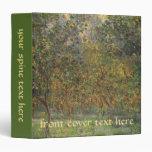 Lemon Grove in Bordighera by Claude Monet 3 Ring Binder