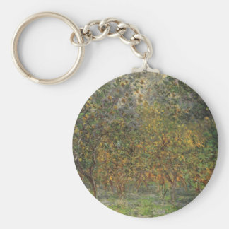 Lemon Grove in Bordighera by Claude Monet Keychain