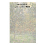 Lemon Grove in Bordighera by Claude Monet Personalized Stationery