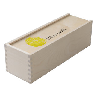 Lemon Half Wooden Box