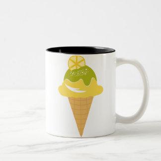 Lemon Ice Cream Mug