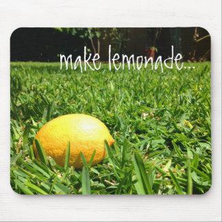 Lemon in the Grass Mouse Pad   Make Lemonade