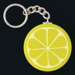 "Lemon Keychain<br><div class=""desc"">Lemon slice design</div>"