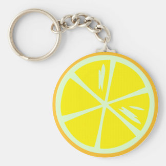 Lemon Keychain