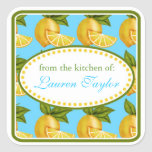 Lemon  Kitchen stickers