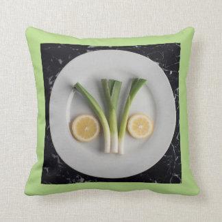 Lemon & Leek Cushion
