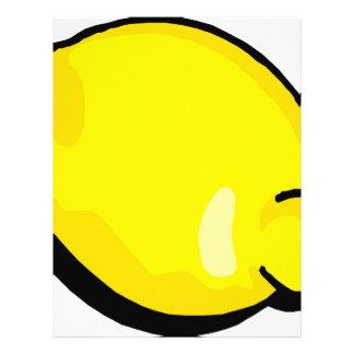 Lemon Letterhead