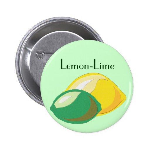 Lemon lime button zazzle for Lemon button