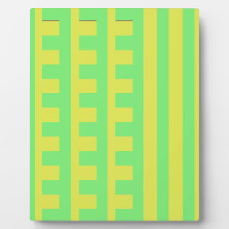 Lemon Lime Combs Tooth Plaque