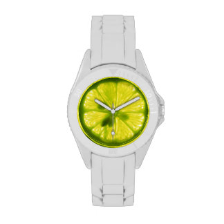 Lemon Lime Face Watch