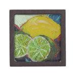 Lemon Lime Gift Box Premium Jewelry Box