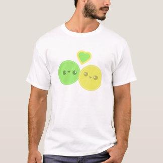 Lemon Lime Heart Kawaii t-shirt