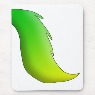 Lemon-Lime Horse/Unicorn/Pegasus Tail Mouse Pad