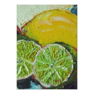Lemon Lime Invitation