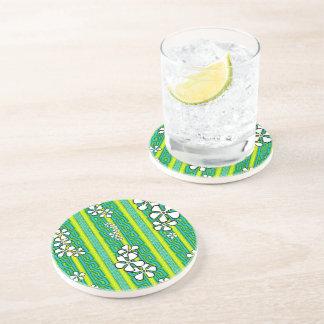 Lemon Lime Luau Drink Coaster
