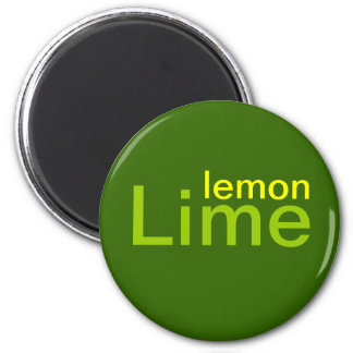 Lemon Lime Magnet