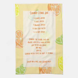 Lemon, Lime, Orange Citrus Ade Recipe Towels