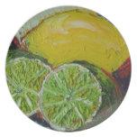 Lemon Lime Plate