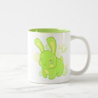 Lemon Lime Rabbit Mug