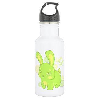 Lemon Lime Rabbit Stainless Steel Water Bottle