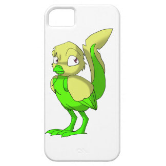 Lemon-Lime Reptilian Bird iPhone Case iPhone 5 Cover