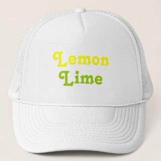 Lemon Lime Trucker Hat
