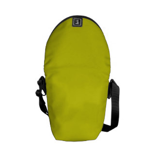 LEMON LIME YELLOW (solid fruity color) ~ Courier Bag