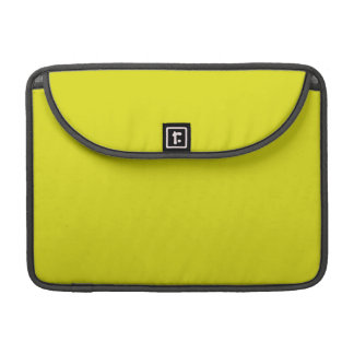 LEMON LIME YELLOW (solid fruity color) ~ MacBook Pro Sleeve