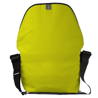LEMON LIME YELLOW (solid fruity color) ~ Courier Bags