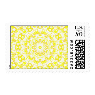 Lemon Meringue Kaleidoscope Postage