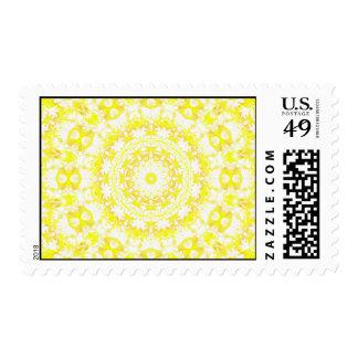 Lemon Meringue Kaleidoscope Stamps