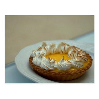 Lemon Meringue Tart Cake Postcard