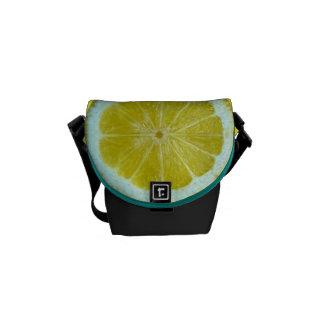 Lemon Messenger Bag