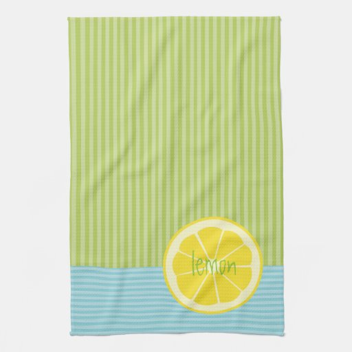 Lemon | Microfiber Kitchen Towels