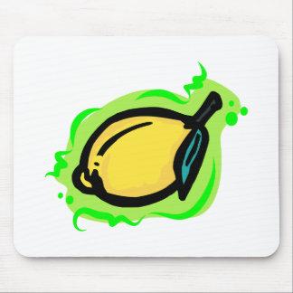 lemon mouse pad