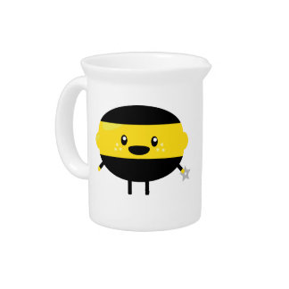 Lemon Ninja Beverage Pitcher