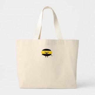 Lemon Ninja Large Tote Bag