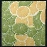 "Lemon or Lime Cloth Napkin<br><div class=""desc"">design by h scott cushing</div>"