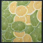 "Lemon or Lime Cloth Napkin<br><div class=""desc"">design by h scott cushing</div>"