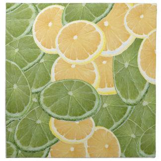 Lemon or Lime Cloth Napkin