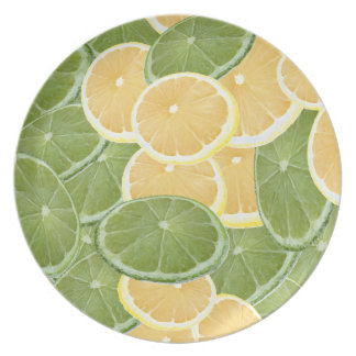 Lemon or lime plate