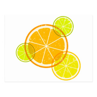 Lemon/orange Postcard