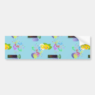 lemon party bumper sticker